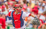 27 May 2013: Washington Nationals catcher Kurt Suzuki in action against the Baltimore Orioles at Nationals Park in Washington, DC. The Orioles defeated the Nationals 6-2, taking the Memorial Day, first game of their interleague series. Mandatory Credit: Ed Wolfstein Photo *** RAW (NEF) Image File Available ***