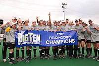 Iowa at the 2007 Big Ten Field Hockey Championships