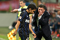 "(L-R) Yuto Nagatomo, Walter Mazzarri (Inter), APRIL 26, 2014 - Football / Soccer : Italian ""Serie A"" match between Inter Milan 0-0 SSC Napoli at Stadio Giuseppe Meazza in Milan, Italy. (Photo by Enrico Calderoni/AFLO SPORT)"
