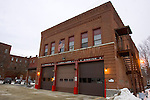 WINSTED, CT- 06 JANUARY 2008 --010609JS03-The Winsted Fire Station on Elm Street in Winsted, is the oldest firehouse in the city. <br /> Jim Shannon / Republican-American