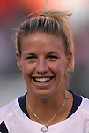 16 October 2004, Aly Wagner of the U.S. Women's National Team in their 1-0 defeat of Mexico at Arrowhead Stadium, Kansas City, Missouri..