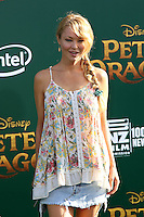 HOLLYWOOD, CA- AUGUST 8:  Charlotte Ross at the Disney premiere of 'Pete's Dragon' at El Capitan Theater in Hollywood, California, on August 8, 2016. Credit: David Edwards/MediaPunch