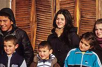 Young faces, Vardahovit, Armenia, February 2014