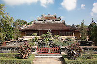 Royal Library or Emperors Reading Room (Thai Binh Lau), Imperial City, Citadel, Hue, Vietnam