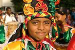 Dancers, November Independence festivities, Cartagena de Indias, Bolivar Department, Colombia, South America. 2008