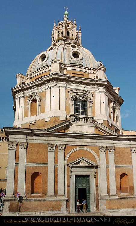 Santa Maria di Loreto Antonio da Sangallo the Younger Dome Jacopo del Duca Trajan's Forum Rome