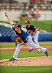 1 March 2017: Houston Astros pitcher Trent Thornton on the mound during Spring Training action against the Miami Marlins at the Ballpark of the Palm Beaches in West Palm Beach, Florida. The Marlins defeated the Astros 9-5 in Grapefruit League play. Mandatory Credit: Ed Wolfstein Photo *** RAW (NEF) Image File Available ***