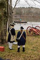 Washington Crossing the Delaware Reenactment