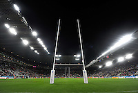 A general view of St James' Park at half-time. Rugby World Cup Pool C match between New Zealand and Tonga on October 9, 2015 at St James' Park in Newcastle, England. Photo by: Patrick Khachfe / Onside Images