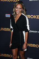 HOLLYWOOD, LOS ANGELES, CA, USA - DECEMBER 15: Lolo Jones arrives at the Los Angeles Premiere Of Universal Pictures' 'Unbroken' held at the Dolby Theatre on December 15, 2014 in Hollywood, Los Angeles, California, United States. (Photo by Xavier Collin/Celebrity Monitor)