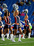 3 September 2009:  Buffalo Bills' cheerleaders the Buffalo Jills entertain the crowd prior to a pre-season game against the Detroit Lions at Ralph Wilson Stadium in Orchard Park, New York. The Lions defeated the Bills 17-6...Mandatory Photo Credit: Ed Wolfstein Photo