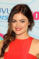 LOS ANGELES - JUL 22:  Lucy Hale in the Press Room of the 2012 Teen Choice Awards at Gibson Ampitheatre on July 22, 2012 in Los Angeles, CA