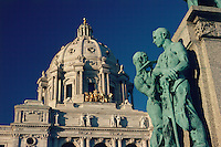 State Capitol, designed by Cass Gilbert, Saint Paul, Minnesota, United States