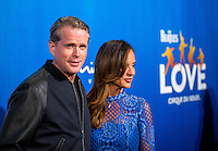 LAS VEGAS, NV - July 14, 2016: Cary Elwes, Lisa Marie Kubikoff pictured arriving at The Beatles LOVE by Cirque Du Soleil at The Mirage Resort in Las vegas, NV on July 14, 2016. Credit: Erik Kabik Photography/ MediaPunch