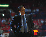 Kentucky Head Coach John Calipari at the C.M. &quot;Tad&quot; Smith Coliseum in Oxford, Miss. on Tuesday, February 1, 2011. Ole Miss won 71-69.