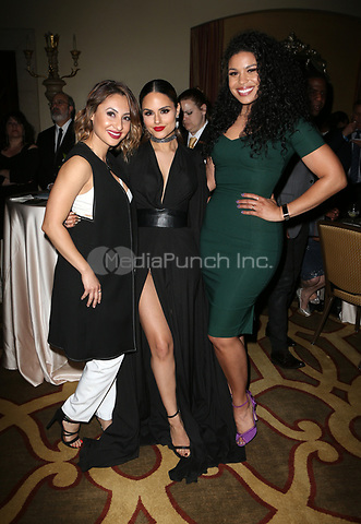 BEVERLY HILLS, CA - March 21: Francia Raisa, Pia Toscano, Jordin Sparks, At Generosity.org Fundraiser For World Water Day_Inside At Montage Hotel In California on March 21, 2017. Credit: FS/MediaPunch