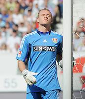 FUSSBALL   1. BUNDESLIGA  SAISON 2011/2012   3. Spieltag     20.08.2011 VfB Stuttgart - Bayer Leverkusen        Torwart Bernd Leno (Bayer 04 Leverkusen)