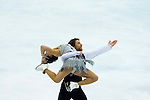 TAIPEI, TAIWAN - JANUARY 22:  Lynn Kriengkrairut and Logan Guilietti-Schmitt of USA compete in the Ice Dance Short Dance event during the Four Continents Figure Skating Championships on January 22, 2014 in Taipei, Taiwan.  Photo by Victor Fraile / Power Sport Images *** Local Caption *** Lynn Kriengkrairut; Logan Guilietti-Schmitt