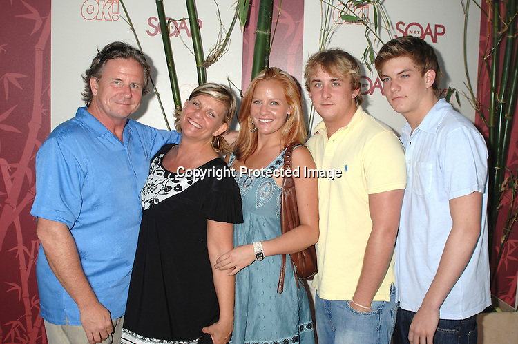 Kim Zimmer family photos