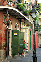 Faulkner's House at Pirates Alley, French Quarter, New Orleans, Louisiana, USA