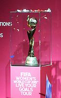 Presentacion Trofeo Copa Mundial Femenina de la FIFA Canada 2015