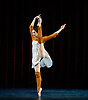 Cinderella Mariinsky Ballet <br /> at The Royal Opera House, Covent Garden, London, Great Britain <br /> 15th August 2014 <br /> rehearsal <br /> <br /> Diana Vishneva as Cinderella<br /> Vasily Tkachenko as Spring <br /> Anton Pimonov as Summer <br /> Konstantin Ivkin as Autumn <br /> Kamil Yangurazov <br /> as Winter <br /> Elena Bazhenova as Fairy Tramp <br /> Anastasia Petushkova as Stepmother<br /> Margarita Frolova as Khudishka <br /> Ekaterina Ivannikova as Kubishka <br /> <br /> Photograph by Elliott Franks <br /> Image licensed to Elliott Franks Photography Services