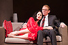 Keeler <br /> by Gill Adams<br /> at Charing Cross Theatre <br /> London, Great Britain <br /> press photocall  <br /> 1st November 2013 <br /> <br /> <br /> Sarah Armstrong as Christine Keeler <br /> <br /> <br /> Alex Dower as Eugene Ivanov<br /> <br /> Michael Good as John Profumo <br /> <br /> Marcus Adolphy as Lucky Gordon <br /> <br /> Paul Nicholas as Stephen Ward<br /> <br /> Hannah Jordan as Doris<br /> <br /> Carina Birrell as Lady P<br /> <br /> Stephen Joseph as Lord Tubs<br /> <br /> <br /> <br /> Photograph by Elliott Franks