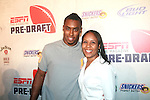 Denver Broncos Rahim Moore and Mother Attend ESPN The Magazine's Eighth Annual Pre-Draft Party, at ESPACE Featuring Music Provided by ?uestLove, New York 4/27/11