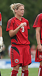 26 August 2007: Connecticut's Mary Frances Monroe. The Washington Freedom played the Connecticut Sun in the Hall of Fame Game as part of the National Soccer Hall of Fame Induction Weekend at the National Soccer Hall of Fame in Oneonta, New York.