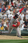 27 June 2007:Red Sox Pitcher Hideki Okajima Seattle Mariners vs Boston Red Sox at Safeco Park in Seattle, Washington.