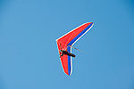 Hang gliding, hang glider, Fort Funston, San Francisco, California, USA.  Photo copyright Lee Foster.  Photo # california108400