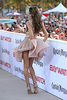 MIAMI BEACH, FL - MAY 13: Izabel Goulart attends the Baywatch Movie Premiere at Lummus Park on May 13, 2017 in Miami Beach, Florida. Credit: mpi04/MediaPunch