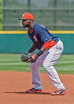 20 March 2015: Houston Astros first baseman Chris Carter in Spring Training action against the Washington Nationals at Osceola County Stadium in Kissimmee, Florida. The Astros fell to the Nationals 7-5 in Grapefruit League play. Mandatory Credit: Ed Wolfstein Photo *** RAW (NEF) Image File Available ***