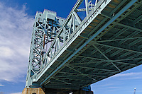 Robert F. Kennedy (RFK) Bridge, Harlem River Lift Span, between  Manhattan and the Bronx, New York City, New York, USA
