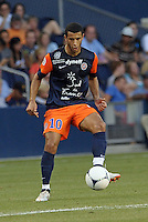 Younes Belhanda (10) midfield Montpellier in action..Sporting Kansas City were defeated 3-0 by Montpellier HSC in an international friendly at LIVESTRONG Sporting Park, Kansas City, KS..