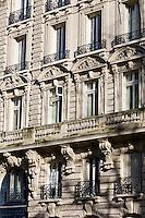 French architecture, Boulevard Saint Germain, Paris, France