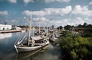 June 1, 1977. Pines Island, Cuba. Pines Island Harbor.