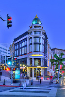 Beverly Hills CA, Rodeo, Luxury Shopping