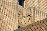 Art Deco design on the Bellingham Towers building, Bellingham, Washington state, USA