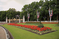 The Mall Garden - Westminster, UK