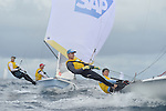 2013 - SAP 5O5 WORLDS - DAY 1 - BARBADOS
