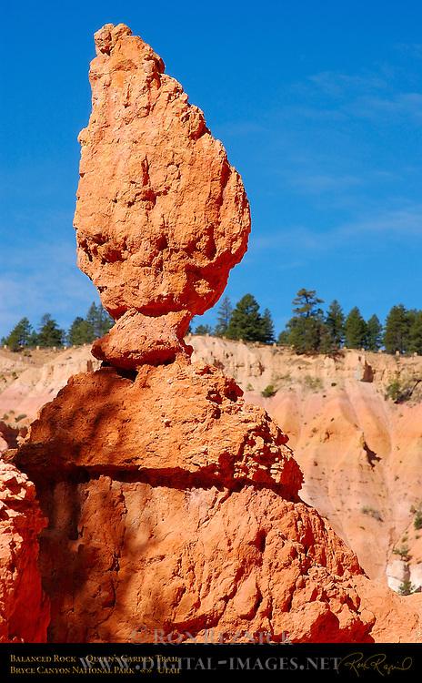 Balanced Rock, Queen's Garden Trail, Bryce Canyon National Park, Utah