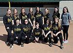4-23-14, Huron High School JV softball team