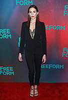 NEW YORK, NY - APRIL 19: Troian Bellisario at The 2017 Freeform Upfront in New York City on April 19, 2017. <br /> CAP/MPI/DIE<br /> &copy;DIE/MPI/Capital Pictures