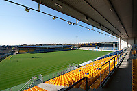 The Freethiel football stadium from the Waasland-Beveren club in Beveren (Belgium, 25/03/2014)