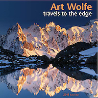 2013 Art Wolfe: Travels to the Edge Wall Calendar<br />