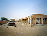 """Malian military base of Abeïbara. Attacked by the """"Democratic Alliance for Change"""" on May 21, 2008 and remains under the control of Tuareg rebels. The rebels killed 33 Malian soldiers and took 73 prisonners. Northern Mali, July 2008"""