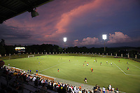 The klockner stadium located at the University of Virginia in Charlottesville, VA.