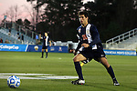 12 December 2014: Virginia's Nick Corriveau. The University of Virginia Cavaliers played the University of Maryland Baltimore County Retrievers at WakeMed Stadium in Cary, North Carolina in a 2014 NCAA Division I Men's College Cup semifinal match.