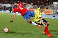 Chile (CHL) vs Colombia (COL) 12-11-2015